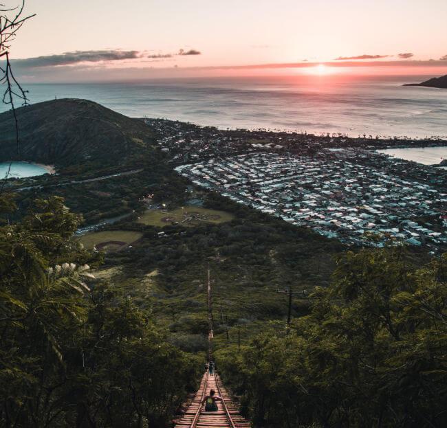 Oahu view