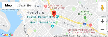 map to Kistner Vein Clinic