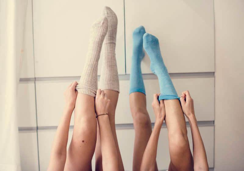 elevate legs to improve poor circulation