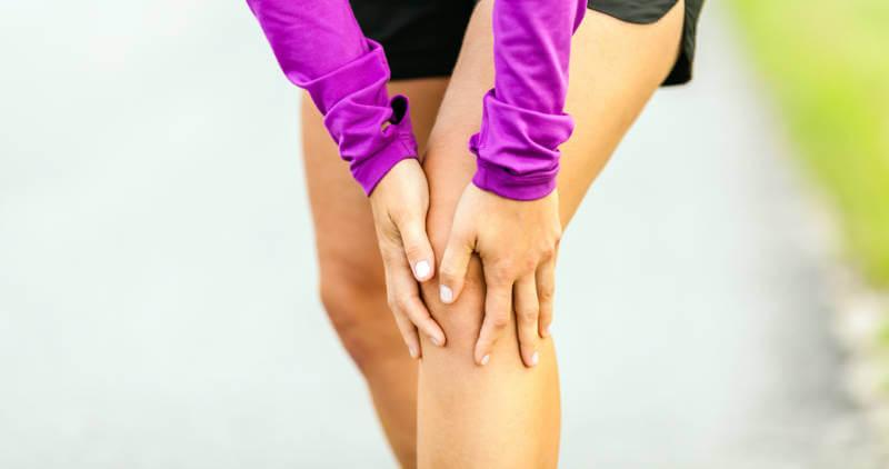 Picture of leg cramping